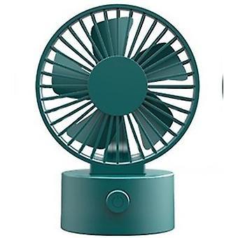 Ventilateur mini pendaison de cou d'été neutre usb rechargeable ventilateurs portables de bureau de bureau
