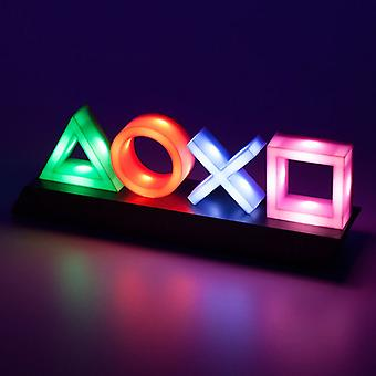 Voice Control Game Icon Light PS4 Mood Flash Lamp Acrylic Atmosphere Neon Light Sign Commercial Lighting Club Wall Decoration