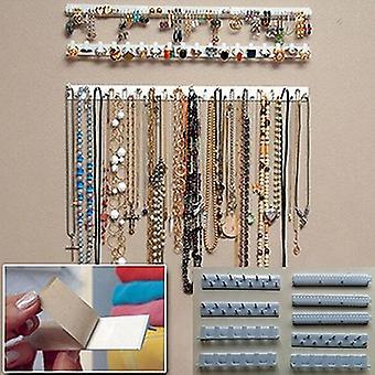 Adhesive Paste Wall Hanging Jewelry Storage Hooks