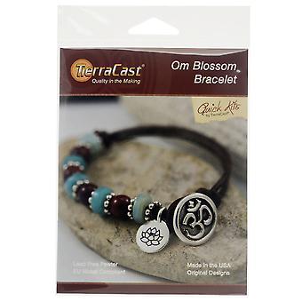 Armband kit, Om Blossom, maakt een armband, door TierraCast