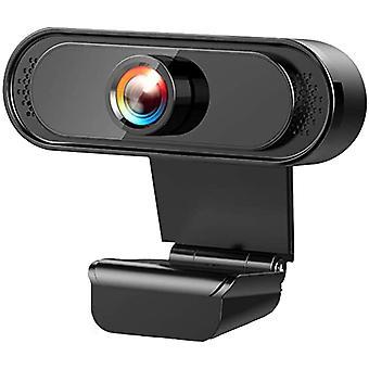 FengChun Webcam mit Mikrofon, Webcam 1080P Full HD USB Anschluss Plug and Play Webkamera für Laptop,