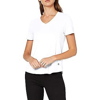 Daniel Hechter V-Neck Shirt T, White (Wei 10), 52 (One Size: 46) Woman