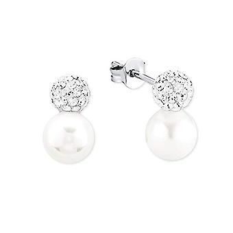 amor Örhängen för kvinnor silver - 9964307