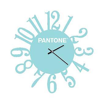 PANTONE Montre Loop Couleur Bleu, Blanc, en Métal L40xP0,15xA40 cm
