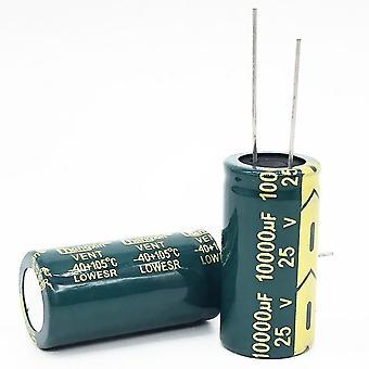 25v 10000uf 18*35 低Esr高周波アルミニウム電解コンデンサ