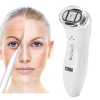 Uk plug ultrasons rf radiofréquence mini lifting facial machine anti rides rajeunissement du visage soins de beauté fa0441