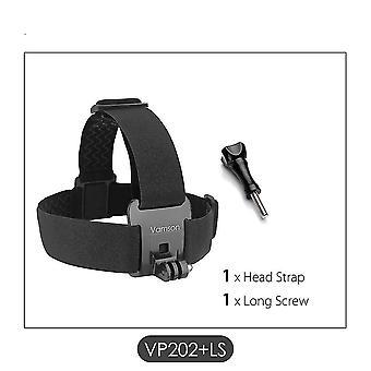 جديد vp202-ls حزام الرأس حزام جبل قابل للتعديل لsm36909 gopro