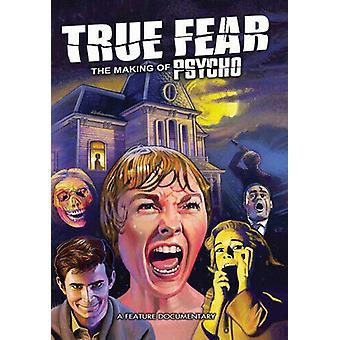 True Fear - The Making of Psycho DVD (2018) Jeff Herberger cert E Regio 2