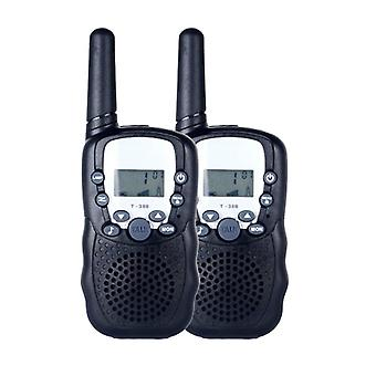Two Way Radio Portable Handheld's Walkie Talkie With Built-in Led Torch Mini