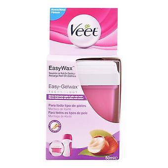 Electric Roll-On Refill Easy Wax Veet (50 ml)