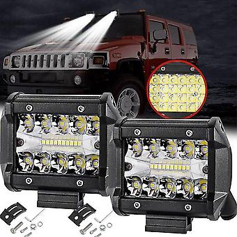 Led Light Bar Led Trabalho Luz Barra Offroad Caminhão Trator Suv Atv Fog Light