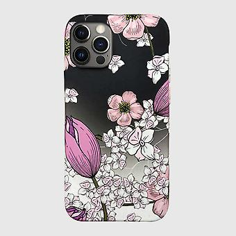 Eco friendly printed floral pink iphone 12 pro case