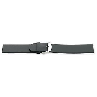 (18mm) Diving Watch Strap ISO Swiss, Vulcanized Rubber Bastet 14mm to 22mm