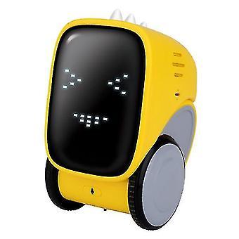 Slimme opladen auto robot voice control dialoog opname inductie touch (geel)