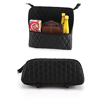 Car Organizer Borsa di stoccaggio in pelle Auto Seat Handbag Holder Car Net Pocket