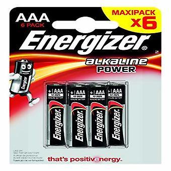 Batteries Energizer E300132500 LR03 AAA (6 uds)