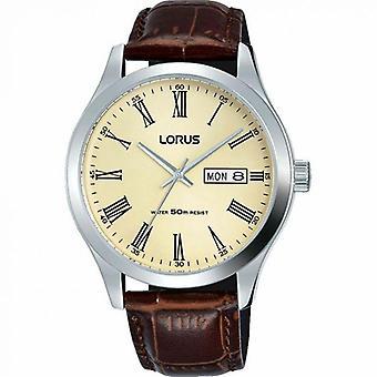 Lorus RXN53DX9 braun Lederarmband Herren's Uhr