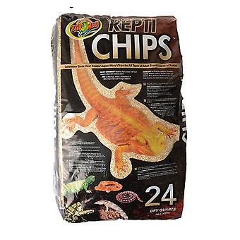 Zoo Med Repti Chips - 24 torra kvartar