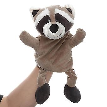 Qian Raccoon Hand Puppets Animal Toy For Imaginative Play, Storytelling, Teaching