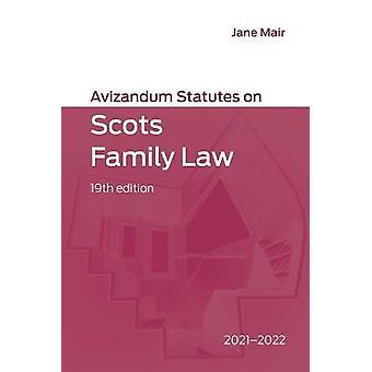 Avizandum Statutes on Scots Family Law