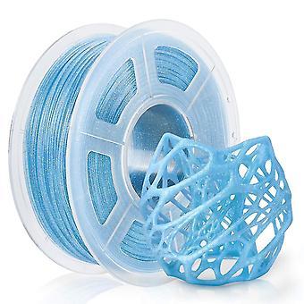 3D printer accessories pla twinkling filament 1kg 1.75Mm diameter tolerance 0.02Mm pla twinkle blue black sparkle glitter