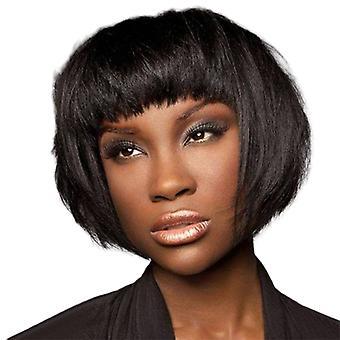 פיאות קניון מותג, תחרה פאות, שיער ישר מציאותי קצר