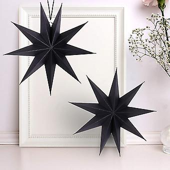 3d Étoile de Noël suspendue, utilisée pour Noël, Halloween, mariages, anniversaires