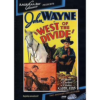 West of the Divide (1934) [DVD] USA import