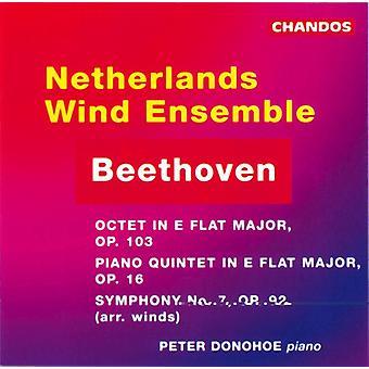 L.V. Beethoven - Beethoven: Oktett, Op.103/Quintet, Op.16/Symphony No.7 [CD] USA import