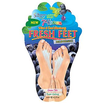 7th Heaven Mint & Iced Blueberry Fresh Feet Foot Mask