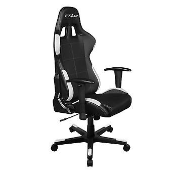 DX Racer DXRacer OH/FD99/NW High-Back Ergonomic Computer Desk Chair PU(Black/White)