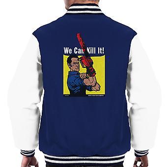 Vi kan drepe det aske Vs Evil Dead menn Varsity jakke