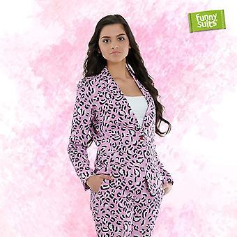 Rosie JAG Jaguar pink women's suit Mister pink 2-piece costume deluxe EU SIZES