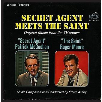 Edwin Astley - Secret Agent Meets the Saint (TV Shows) [CD] USA import