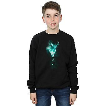 Harry Potter Jungen Hirsch Patronus Nebel Sweatshirt