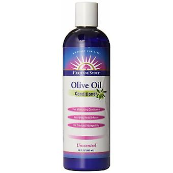 Heritage store Olive Oil Conditioner, Unscented 12 oz