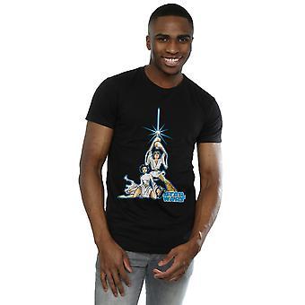מלחמת הכוכבים גברים ' s לוק וליאה חולצת טריקו