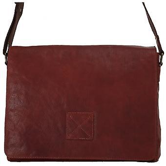 Ashwood Pedro Beş Cep Tüm Deri Messenger Çanta Carry