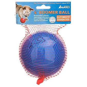 Company of Animals Boomer Ball, Dog Toy (4inch / 110mm) Blue Colour