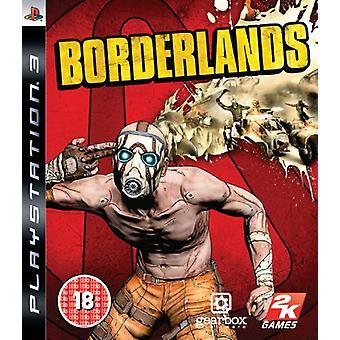 Borderlands (PS3)-in de fabriek verzegeld