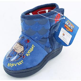 Boys Mike The Knight Bootie Slippers