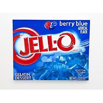 Jell-O Berry Blue Gelatin Dessert Mix