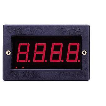 VOLTCRAFT PM 129 Digitalrack-Mount-Meter LED Digital-Panel-Meter bei 199,9 mV