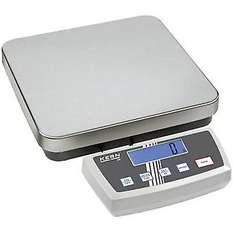 Kern Parcel scale gama de greutate 6 kg lizibilitate 1 g, 2 g alimentat de la rețea, alimentat cu baterii, reîncărcabilă Silver