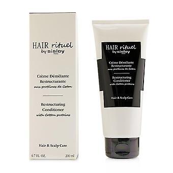 Sisley Hair Rituel by Sisley restrukturering balsam med bomull proteiner-200ml/6.7 oz