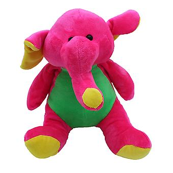 "Plush 10"" Bright Zoo Buddies Elephant"