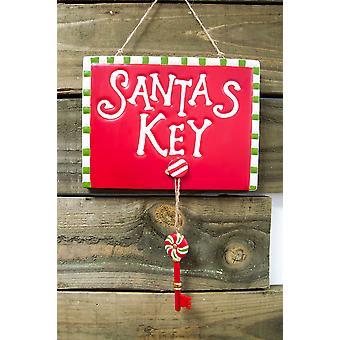 Festive Productions 26cm Santas Magic Key Wall Christmas Xmas Decoration
