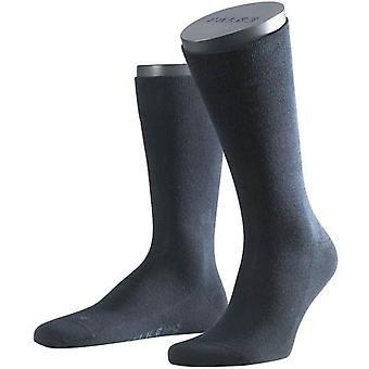 Falke følsomme London Midcalf sokker - Mørk Navy