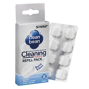 Scanpart Clean Bean Reinigingstabs A8