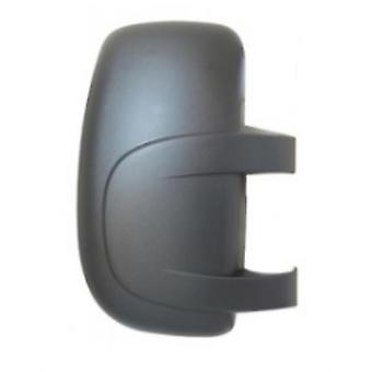 Right Driver Side Mirror Cover (Black Grained) For OPEL MOVANO van 2003-2010